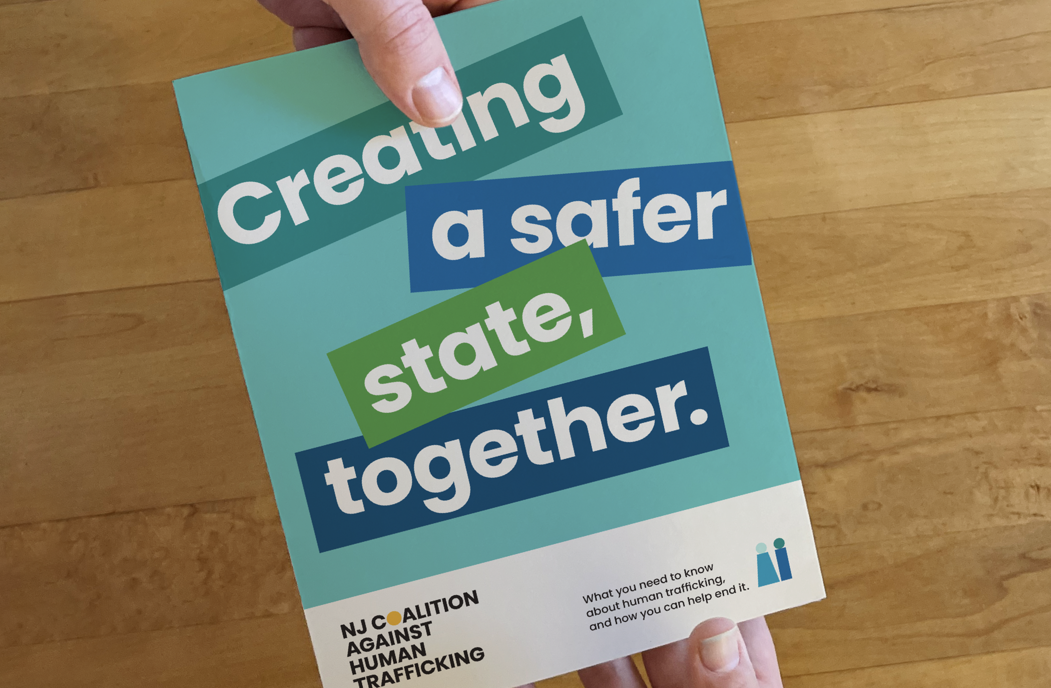 Brochure of key terms, statistics, and facts related to human trafficking—and how community members can get involved.