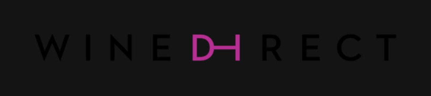 WineDirect logo on a black background