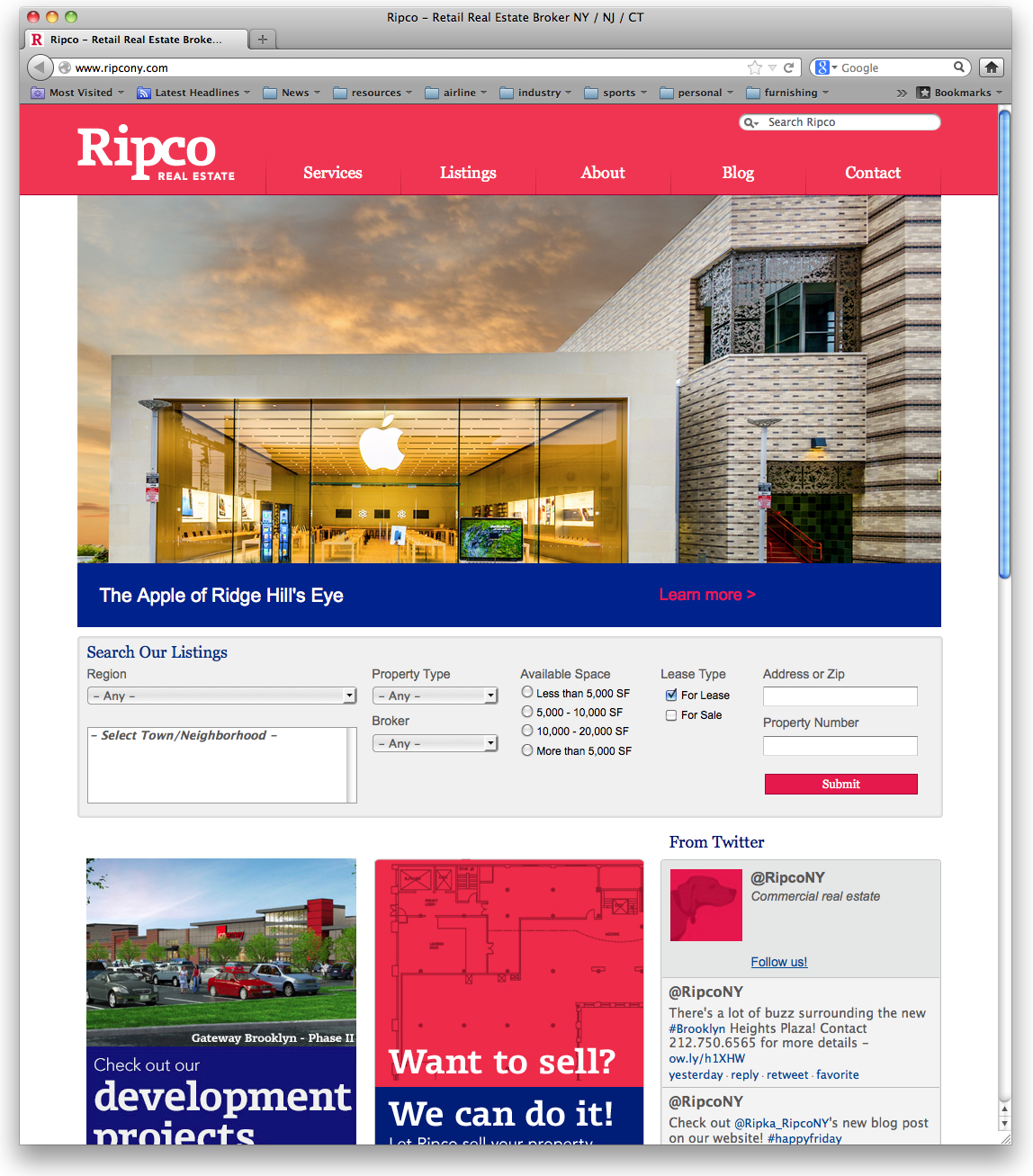 Thinkso Ripco Real Estate Website