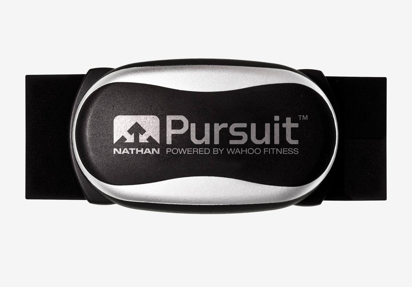 Nathan Sports Pursuit armband fitness monitor.